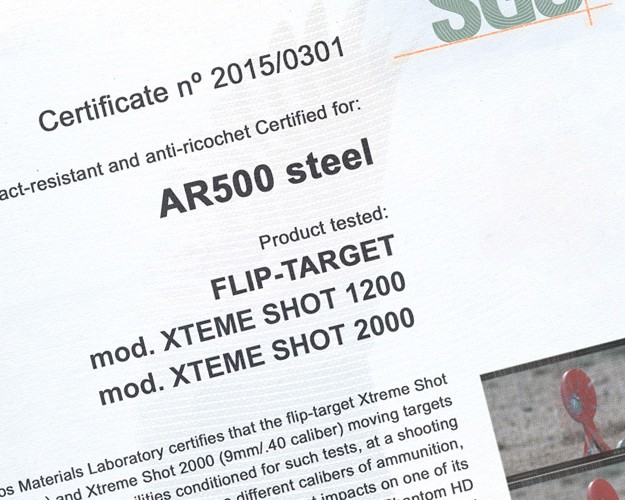 05_FLIP-TARGET_XTREME_SERIE_SGS_CERTIFICATIONS