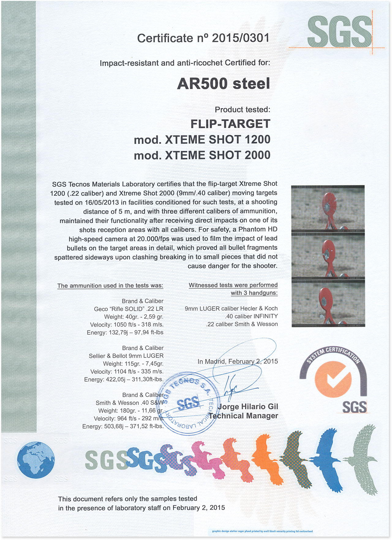 certificadoar500