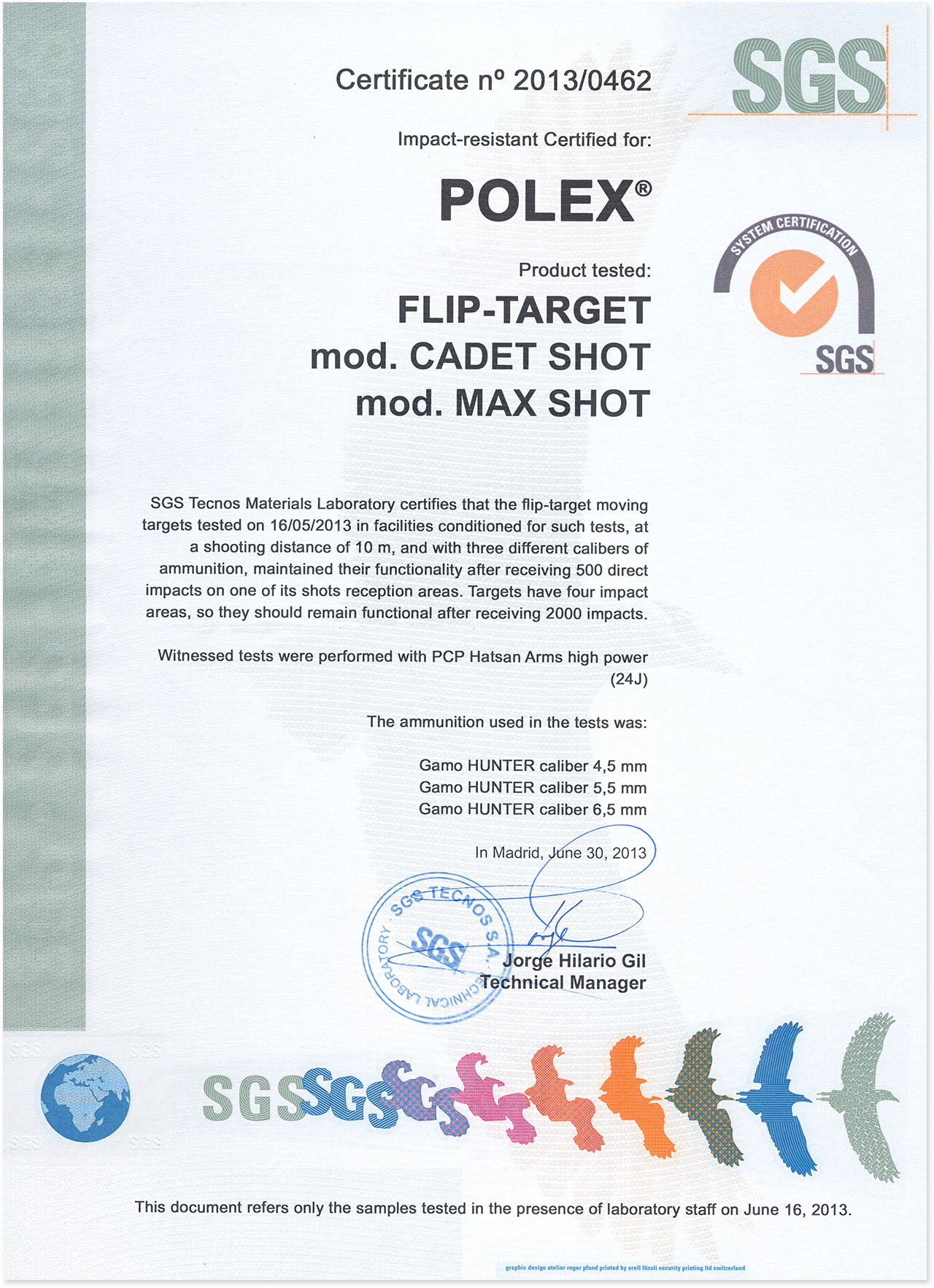 certificadopolex